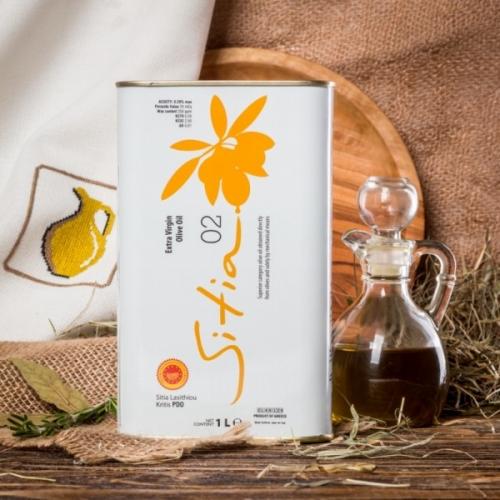 Оливковое масло P.D.O. Sitia (Сития) 0.2%, 1л