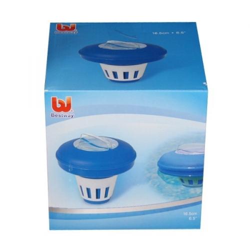 Дозатор плавающий для бассейна 16,5 см Bestway (58071) купить оптом и в розницу