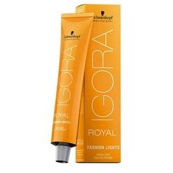 Schwarzkopf Igora Royal Fashion Light - Перманентная крем-краска для мелирования волос, L-89, 60 мл