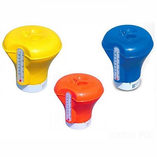 Дозатор плавающий для бассейна 18,5 см с термометром Bestway (58209) купить оптом и в розницу