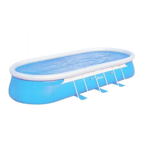 Чехол для овальных бассейнов 488*305*107 см с нагревающим эффектом Bestway (58255) купить оптом и в розницу