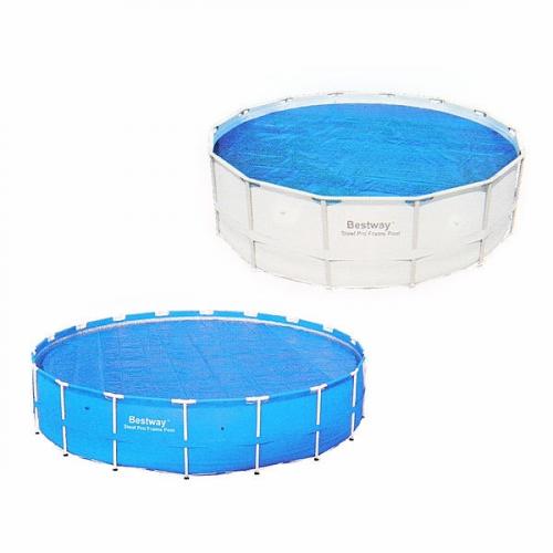 Чехол для круглых каркасных бассейнов 457 см с нагревающим эффектом Bestway (58172) купить оптом и в розницу