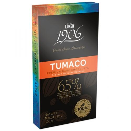 Шоколад горький Casa Luker TUMACO 65%, 100 гр Колумбия