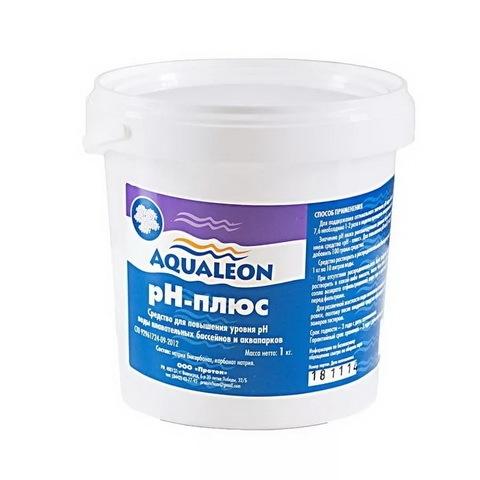 Средство для регулировки кислотности воды Aqualeon pH-плюс в гранулах (банка,1 кг) купить оптом и в розницу