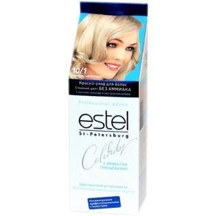 Краска для волос Estel Celebrity (Эстель Селебрити) 10/1 - Серебристый блондин