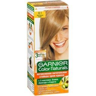 Краска для волос Garnier (Гарньер) Color Naturals 8.1 - Песчаный берег