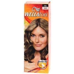 Краска для волос Wellaton (Вэллатон) 7/0 Осенняя листва