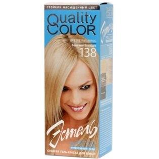 Краска-гель для волос Эстель 138 - Бежевый блондин