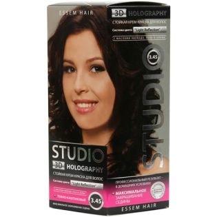 Краска для волос Studio (Студио) 3.45 - Темно-каштановый
