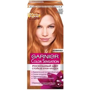 Краска для волос Garnier (Гарньер) Color Sensation, 8.24 Солнечный янтарь