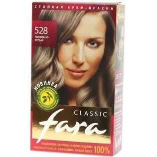 Краска для волос FARA (Фара) Classic 528 - Пепельно-русый