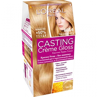 Краска для волос L'Oreal Paris (Лореаль) Casting Creme Gloss (Кастинг Крем Глосс) 8034 - Медовая нуга