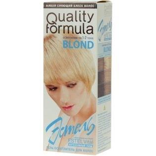 Краска-гель для волос Эстель 100 - BLOND (Блонд) осветлитель на 1-2 тона