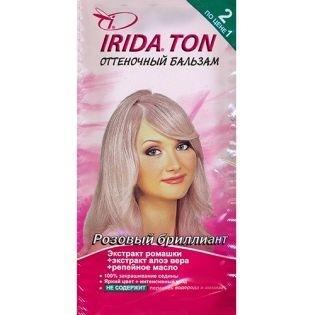 Оттеночный бальзам IRIDA TON (Ирида) Розовый бриллиант
