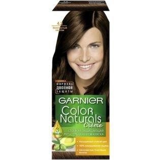 Краска для волос Garnier (Гарньер) Color Naturals 4.3 - Золотистый каштан