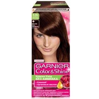 Краска для волос Garnier (Гарньер) Color Shine, 5.35 Шоколад