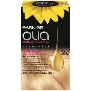 Краска для волос Garnier (Гарньер) Olia, 10.21 Перламутровый блондин