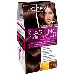 Краска для волос L'Oreal Paris (Лореаль) Casting Creme Gloss (Кастинг Крем Глосс) 525 - Шоколадный фондан