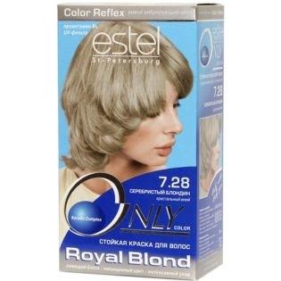Краска для волос Estel Only Color (Эстель Онли Колор) 7.28 - Серебристый блондин