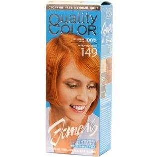 Краска-гель для волос Эстель 149 - Медно-рыжий