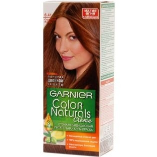 Краска для волос Garnier (Гарньер) Color Naturals 6.41 - Страстный янтарь