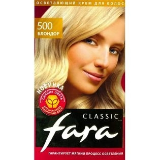 Краска для волос FARA (Фара) Classic 500 - Блондор