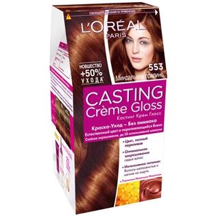 Краска для волос L'Oreal Paris (Лореаль) Casting Creme Gloss (Кастинг Крем Глосс) 553 - Миндальное пралине