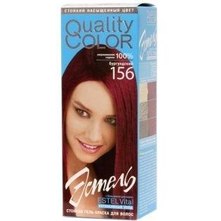 Краска-гель для волос Эстель 156 - Бургундский