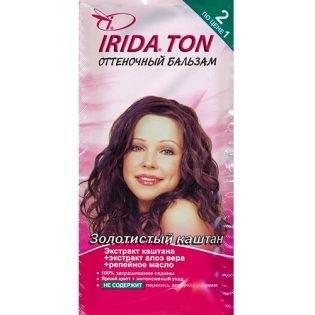 Оттеночный бальзам IRIDA TON (Ирида) Золотистый Каштан
