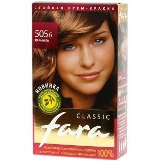 Краска для волос FARA (Фара) Classic 505б - Карамель