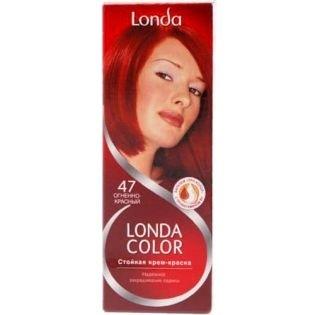Краска для волос Londacolor (Лондаколор) 47 - Огненно-красный