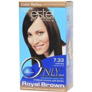 Краска для волос Estel Only Color (Эстель Онли Колор) 7.33 - Шоколад
