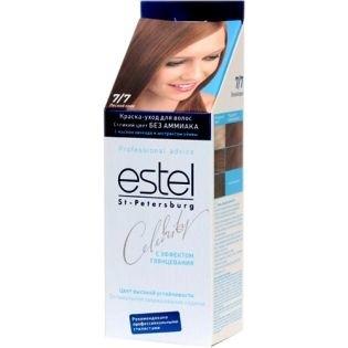 Краска для волос Estel Celebrity (Эстель Селебрити) 7/7 - Лесной орех
