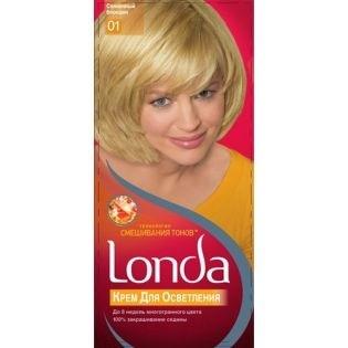 Краска для волос Londacolor (Лондаколор) 01 - Солнечный блондин