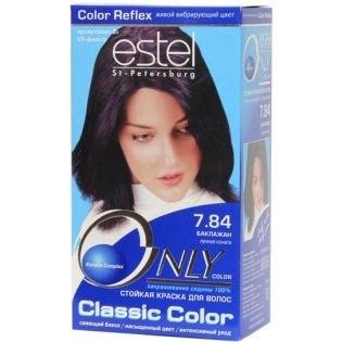 Краска для волос Estel Only Color (Эстель Онли Колор) 7.84 - Баклажан