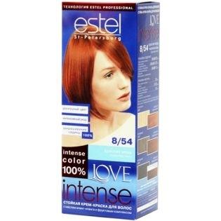 Краска для волос Estel Love Intense (Эстель Лав Интенс) 8/54 - Красная медь