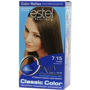 Краска для волос Estel Only Color (Эстель Онли Колор) 7.15 - Русый