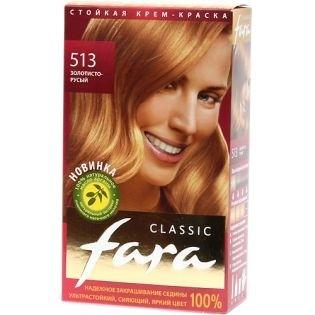 Краска для волос FARA (Фара) Classic 513 - Золотисто-русый