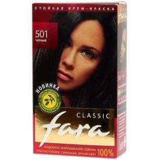 Краска для волос FARA (Фара) Classic 501 - Черный