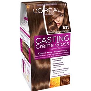 Краска для волос L'Oreal Paris (Лореаль) Casting Creme Gloss (Кастинг Крем Глосс) 635 - Шоколадное пралине
