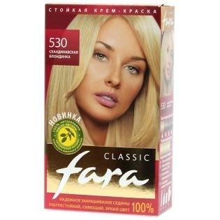 Краска для волос FARA (Фара) Classic 530 - Скандинавская блондинка