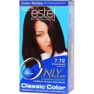 Краска для волос Estel Only Color (Эстель Онли Колор) 7.72 - Спелая вишня