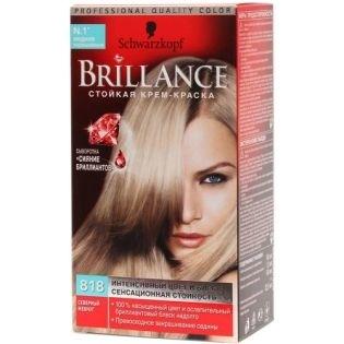 Краска для волос Brillance (Бриллианс) 883 - Элегантный темно-каштановый
