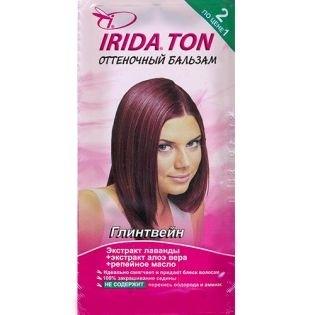 Оттеночный бальзам IRIDA TON (Ирида) Глинтвейн