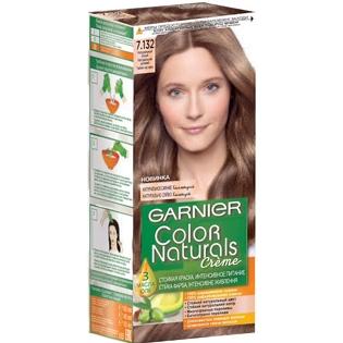 Краска для волос Garnier (Гарньер) Color Naturals 7.132 - Натуральный русый