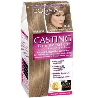 Краска для волос L'Oreal Paris (Лореаль) Casting Creme Gloss (Кастинг Крем Глосс) 810 - Перламутровый русый