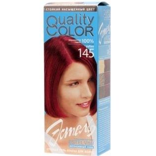 Краска-гель для волос Эстель 145 - Рубин