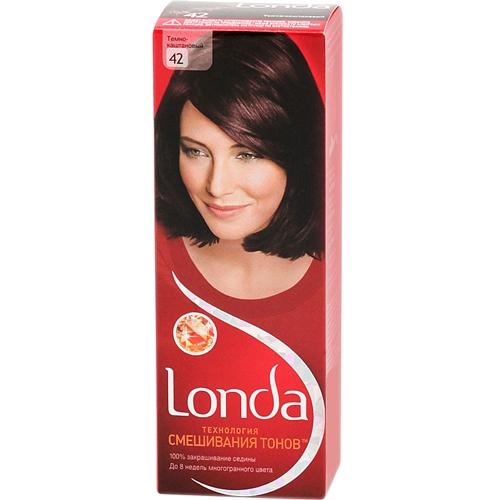 Краска для волос Londacolor (Лондаколор) 42 - Темно-каштановый