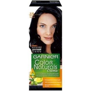 Краска для волос Garnier (Гарньер) Color Naturals 2.10 - Иссиня черный