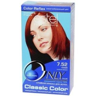 Краска для волос Estel Only Color (Эстель Онли Колор) 7.52 - Пламя